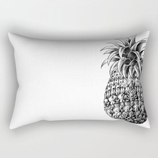 Ornate Pineapple Rectangular Pillow