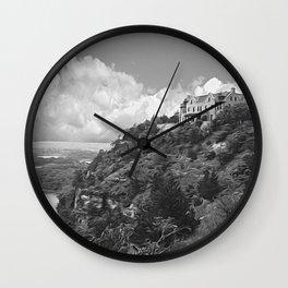 Ha Ha Tonka-Black and White Strokes Wall Clock