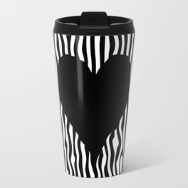 Heart optical illusion #society6 #decor #buyart #artprint Travel Mug