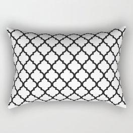 Moroccan B&W Rectangular Pillow