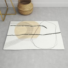 Lines, Circles & Dots Rug