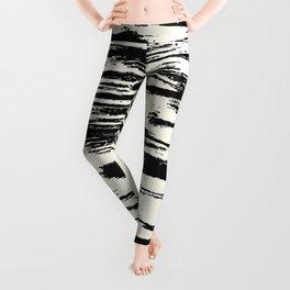 Brush Stripe 1 Leggings