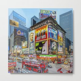 Times Square III Special Edition I Metal Print