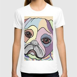 PUG in DENIM Tones T-shirt