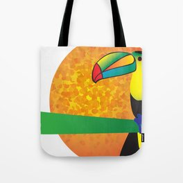 Toucan - White Tote Bag