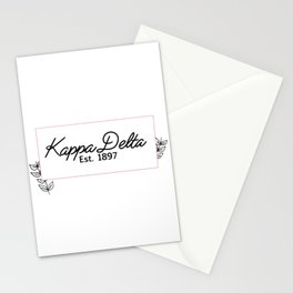 Floral KD Stationery Cards