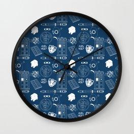 Wibbly wobbly... stuff Wall Clock