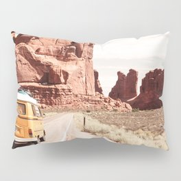 Desert Road Trip Pillow Sham