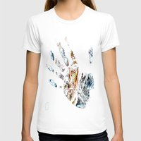 fringe T-shirts featuring Fringe by D77 The DigArtisT