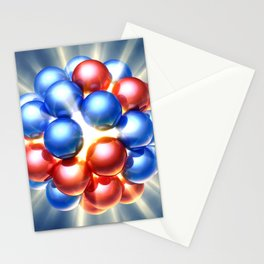 Nuclear fission Stationery Cards