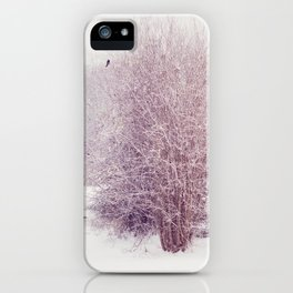 winter's snow iPhone Case