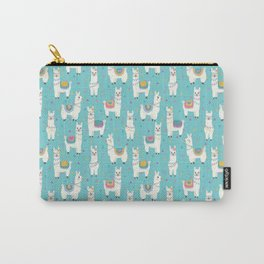 Alpaca blue Carry-All Pouch