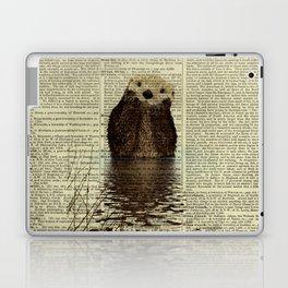 Otter in Love Laptop & iPad Skin