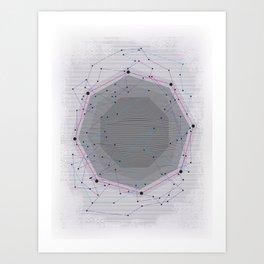 CYBERDOT Art Print