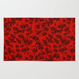 Red Roses Rug