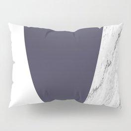 Marble Eclipse blue Geometry Pillow Sham