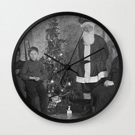 Vintage X-mas Wall Clock