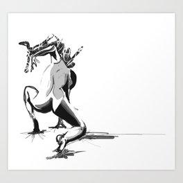 Dancer Done Art Print