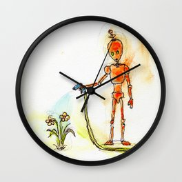 Orange Pours Some Sugar On It Wall Clock