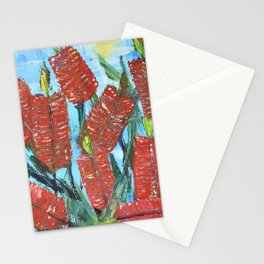 Rustic Bottle Brush Stationery Cards