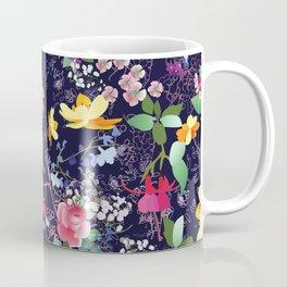 Flowers and Lace Coffee Mug