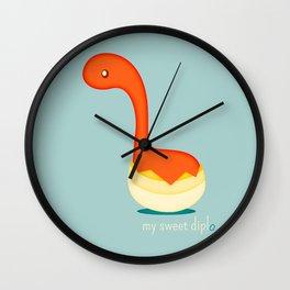 Diplodocus Wall Clock
