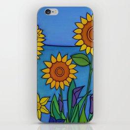 Sunflower Dance iPhone Skin