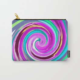 Purple twirl Carry-All Pouch