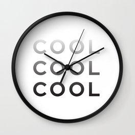 Cool Cool Cool (Community) Wall Clock