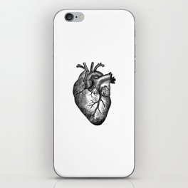 Vintage Heart Anatomy iPhone Skin