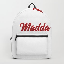 Race Day Madda Faqqqas - RC Car Drift Backpack