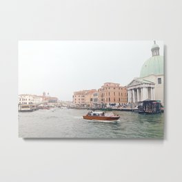 Venezia: Muted Metal Print