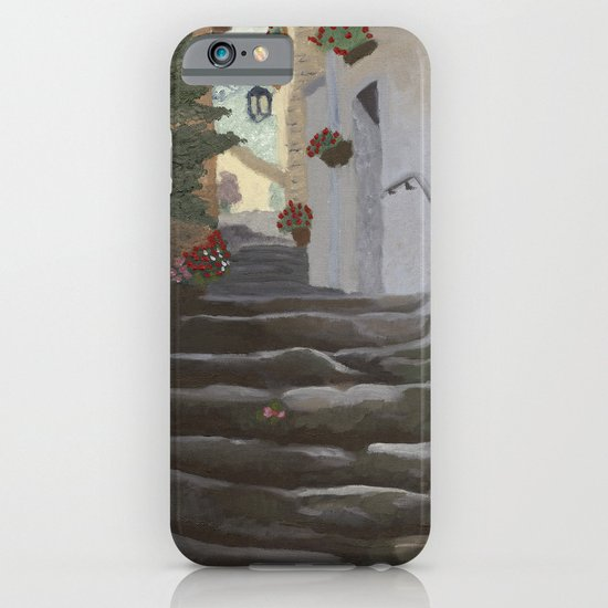 Italian Street and Stairs  iPhone & iPod Case