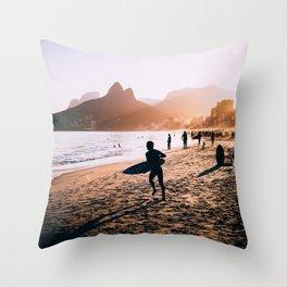 Rio de Janeiro (AquaChara) Throw Pillow