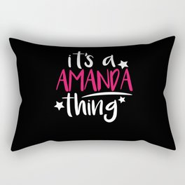 Amanda Thing Gifts for Amanda Rectangular Pillow