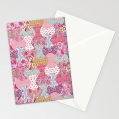 Apple core flowers Stationery Cards