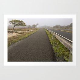 Misty Assateague Route Art Print