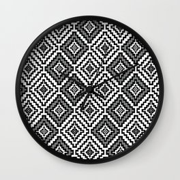 Indi-abstract#11 Wall Clock