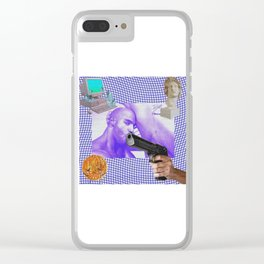 Lick It Lock It Clear iPhone Case