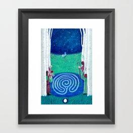 20 Judgement (Baby Birch) Framed Art Print