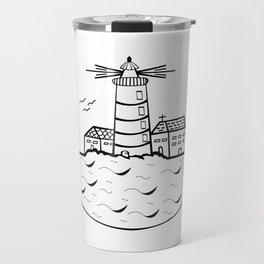 Summer and Sea Travel Mug