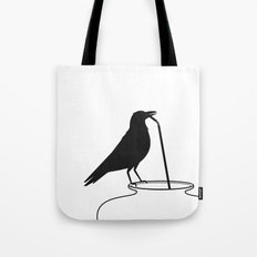 Thirsty crow Tote Bag
