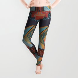 Chapel of the Goddess Orangutan Leggings
