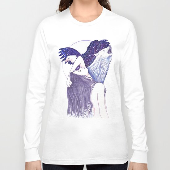 Wings Of An Eagle Long Sleeve T-shirt