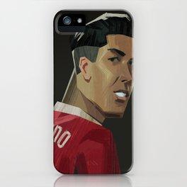 Firmino Portrait iPhone Case