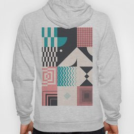 Abstract Geometric Composition 094 Hoody
