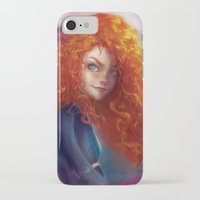 merida iPhone & iPod Cases featuring Merida by ChrySsV