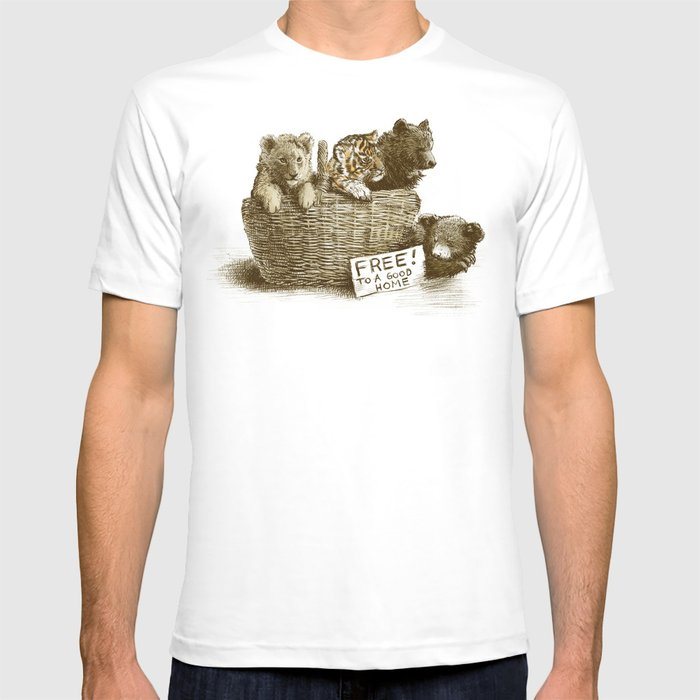 Lions and Tigers and Bears T-shirt