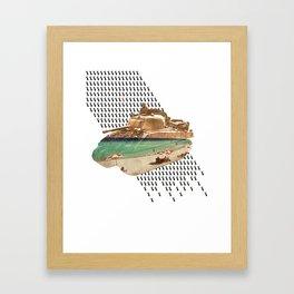 Beachhead Framed Art Print