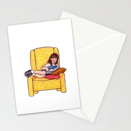 Reading fictional characters: Matilda Stationery Cards